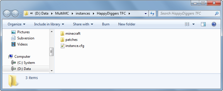 Name:  HappyDiggers TFC instance folder.png