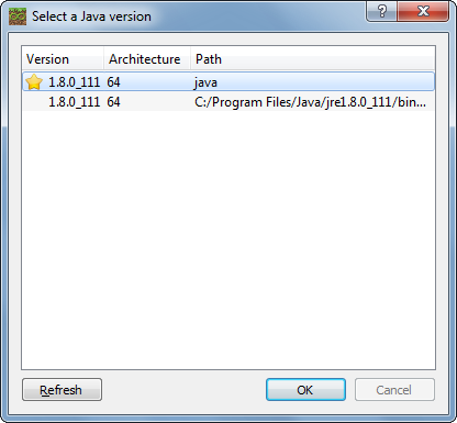 Name:  Select a Java version.png