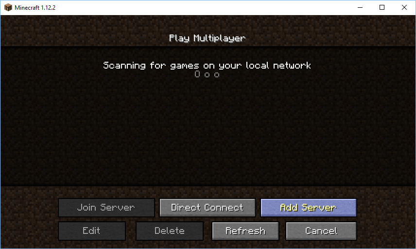 Name:  Minecraft - Add server button.png