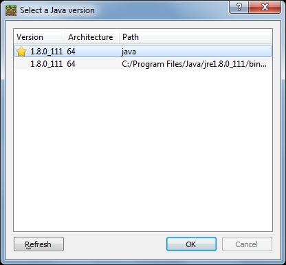 Name:  Select a Java version.png Views: 63 Size:  28.2 KB