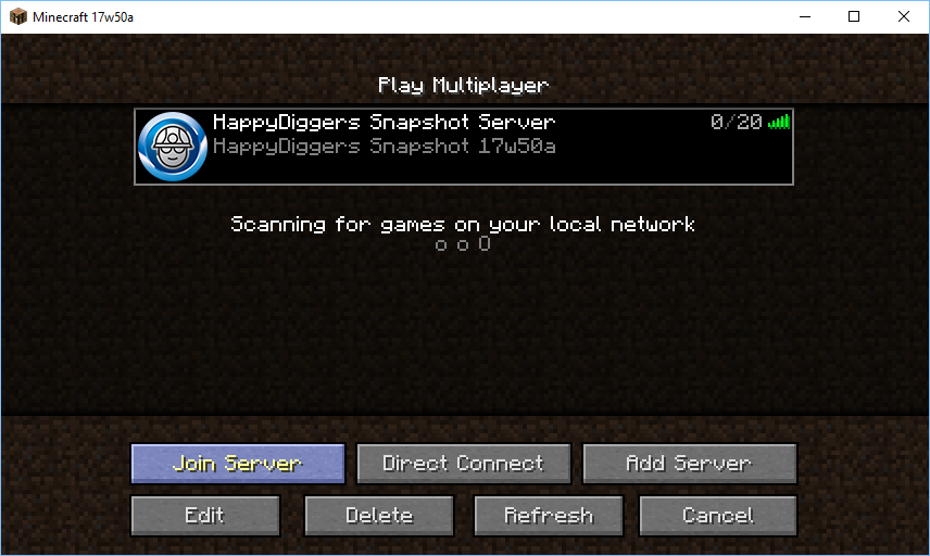 Name:  Minecraft - Server browser.png